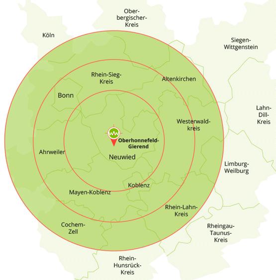 Liefergebiet Regio-Pellets