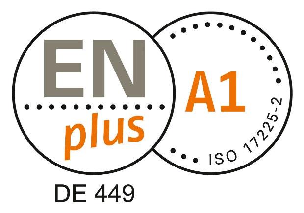 Bild ENplus Zertifikat